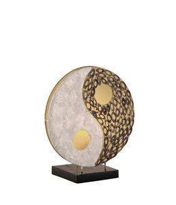 COMFORIUM - lampe à poser à 1 lampe design bambou - Lampe À Poser
