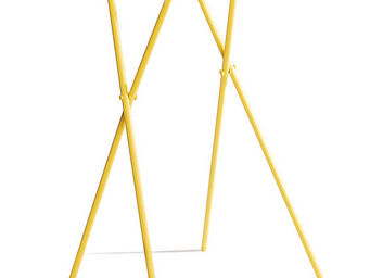 BADEN - table � plante pliable flower jaune - Porte Plantes