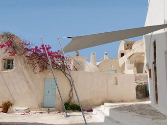 Ideanature - voile d'ombrage carrée 2,90 mètres taupe - Voile D'ombrage