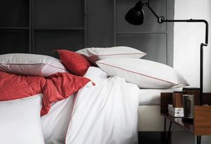 BLANC CERISE - blanc corail - Taie D'oreiller