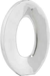 KOKOON DESIGN - vase en aluminium poli ovo - Vase À Fleurs