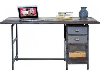 Kare Design - bureau en bois workshop 150x70 cm - Bureau