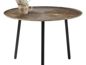 Kare Design - table basse ronde radiation 66 cm - Table Basse Ronde