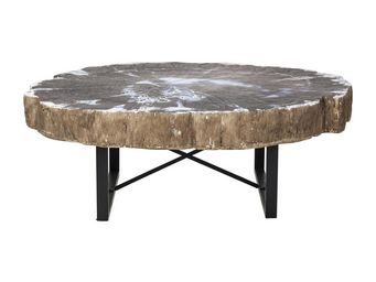 Kare Design - table basse tronco - Table Basse Ronde