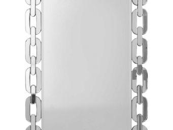 Kare Design - miroir chain 109x78cm - Miroir
