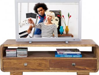 Kare Design - meuble tv en bois authentico club - Meuble Tv Hi Fi