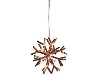 Kare Design - suspension corallo copper rond - Suspension