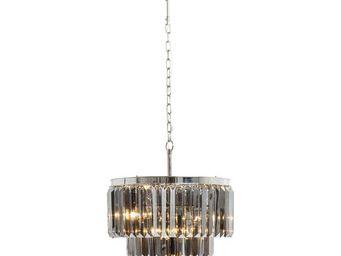 Kare Design - suspension ronde smoky lounge - Lustre
