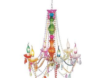 Kare Design - lustre starlight multicolore 6-branches - Lustre