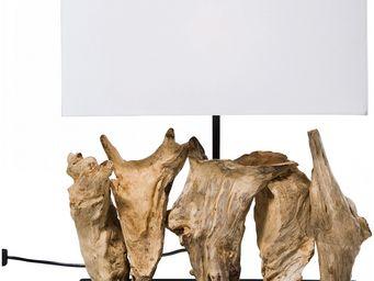 Kare Design - lampe de table nature vertical - Lampe À Poser
