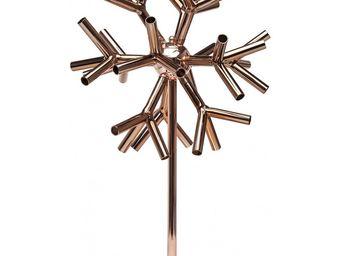 Kare Design - lampe de table corallo copper - Lampe À Poser
