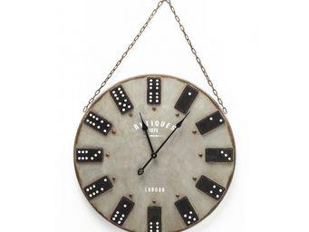Kare Design - horloge domino - Horloge Murale