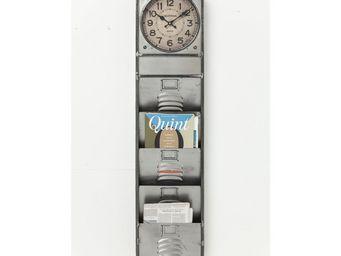 Kare Design - horloge murale thinktank kontor 124cm - Horloge Murale