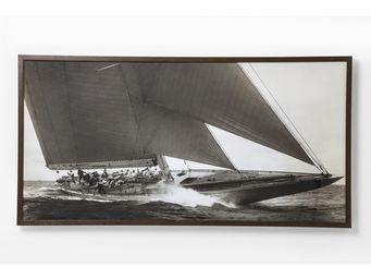 Kare Design - tableau sailing 84x164 - Tableau Décoratif