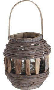 Aubry-Gaspard - lanterne bois - Lanterne D'extérieur