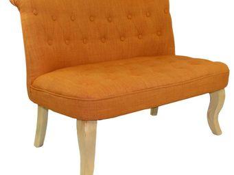 Cotton Wood - banquette crapaud alexia orange - Banquette