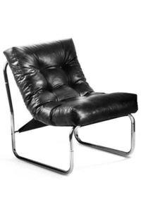 KOKOON DESIGN - fauteuil lounge boudoir noir - Fauteuil