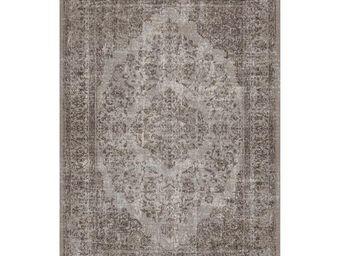 WHITE LABEL - tapis cendre 180 x 120 cm - oriental - l 180 x l 1 - Tapis Contemporain