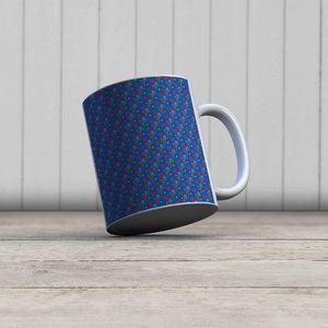 la Magie dans l'Image - mug petits coeurs bleu - Mug