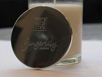 GINGERLILY - or gris sous bois truffe - Bougie Parfumée
