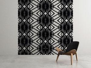 la Magie dans l'Image - grande fresque murale african noir - Papier Peint Panoramique