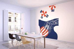 la Magie dans l'Image - grande fresque murale la méduse - Papier Peint Panoramique