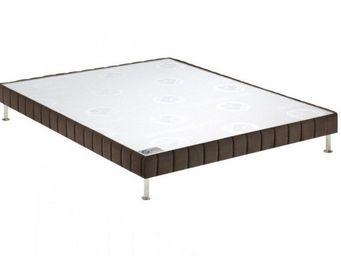 Bultex - bultex sommier tapissier confort ferme vison 70*1 - Sommier Fixe À Ressorts