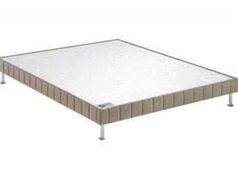 Bultex - bultex sommier tapissier confort médium 3 zones c - Sommier Fixe À Ressorts