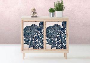 la Magie dans l'Image - adhésif hibiscus - Sticker