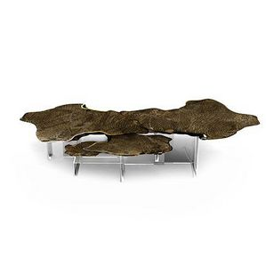 BOCA DO LOBO - monet patina - Table Basse Forme Originale