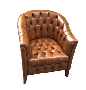 Techni Salons - sir jack chesterfield - Fauteuil Cabriolet
