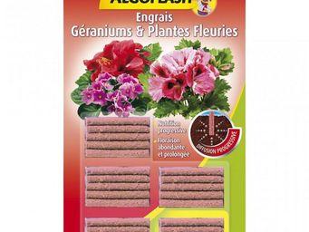 ALGOFLASH - batonnets engrais plantes fleuries 20 + 5 gratuits - Engrais