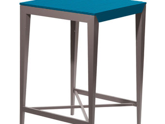 City Green - table haute de jardin portofino - 70 x 70 x 105 cm - Table De Jardin