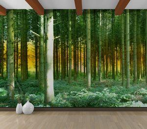 IN CREATION - forêt wild 2 - Papier Peint Panoramique