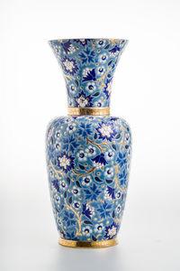 Emaux De Longwy - tradition - Vase Décoratif
