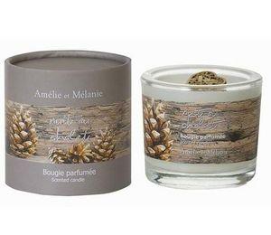 Amelie et Melanie - nuit au chalet - Bougie Parfumée