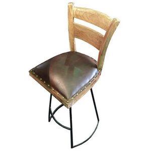 Mathi Design - chaise haute taverne - Chaise Haute De Bar