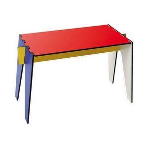 Mathi Design - table basse d'appoint design mondrian - Table D'appoint