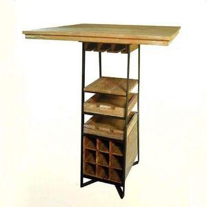 Mathi Design - table haute dégustation - Mange Debout