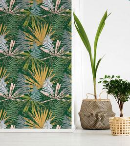 THEVENON - cèdre vert foret - Papier Peint