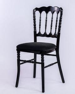 DECO PRIVE - napoléon noire - Chaise