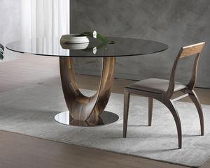 ITALY DREAM DESIGN - axel - Table De Repas Ronde