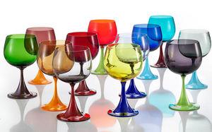 NASONMORETTI - burlesque set 12 verres - Verre À Pied