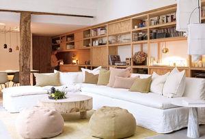Maison De Vacances - boho--combo - Canapé D'angle