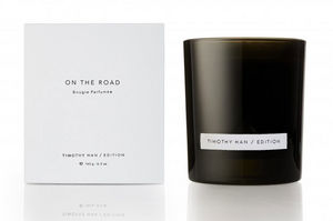 TIMOTHY HAN EDITION - on the road - Bougie Parfumée