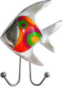L'AGAPE - ventouse poisson tropical - Patère Enfant