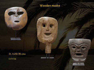 Timor -  - Masque