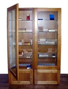 COFRAVIN  - double colonne - Vitrine À Cigares
