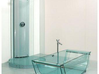Prizma - tulip glass bathtub - Baignoire À Poser