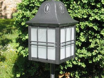 Replicata - sockellaterne jugendstil - Lampe De Jardin